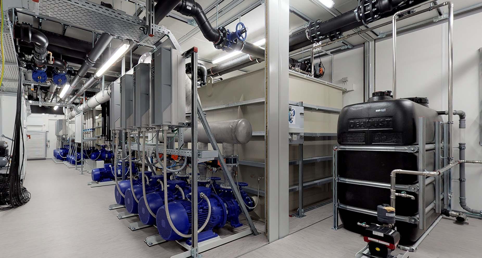 Einblicke in ONI-Anlagencontainer über moderne 3D-Scantechnologie