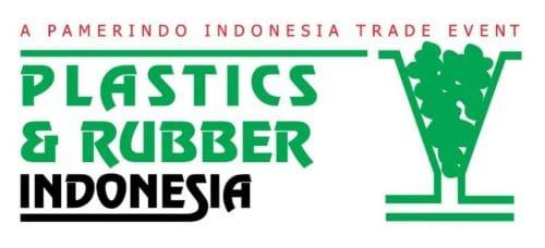 Plastics & Rubber Indonesia Jakarta Logo