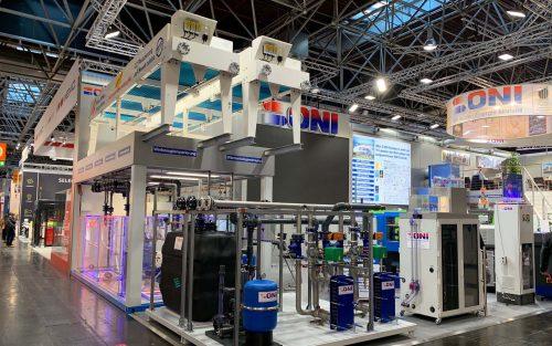 Messestand K Messe ONI-Wärmetrafo GmbH